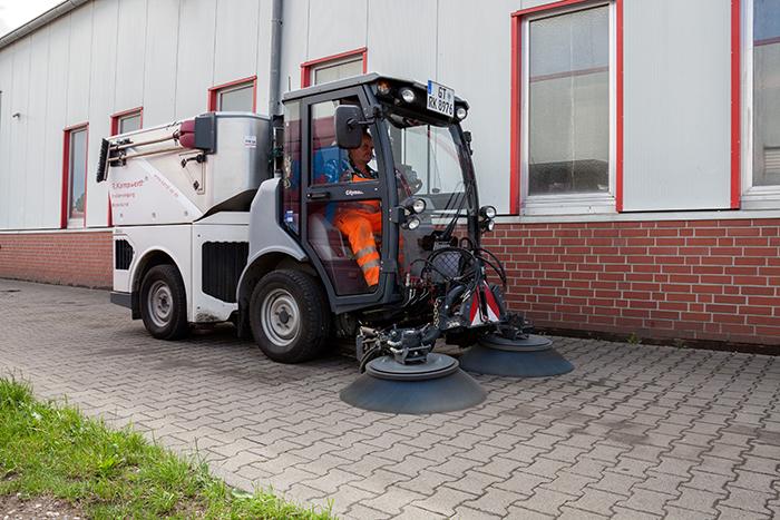 Kehrmaschine fegen Citymaster 1600 | R. Kampwerth GmbH