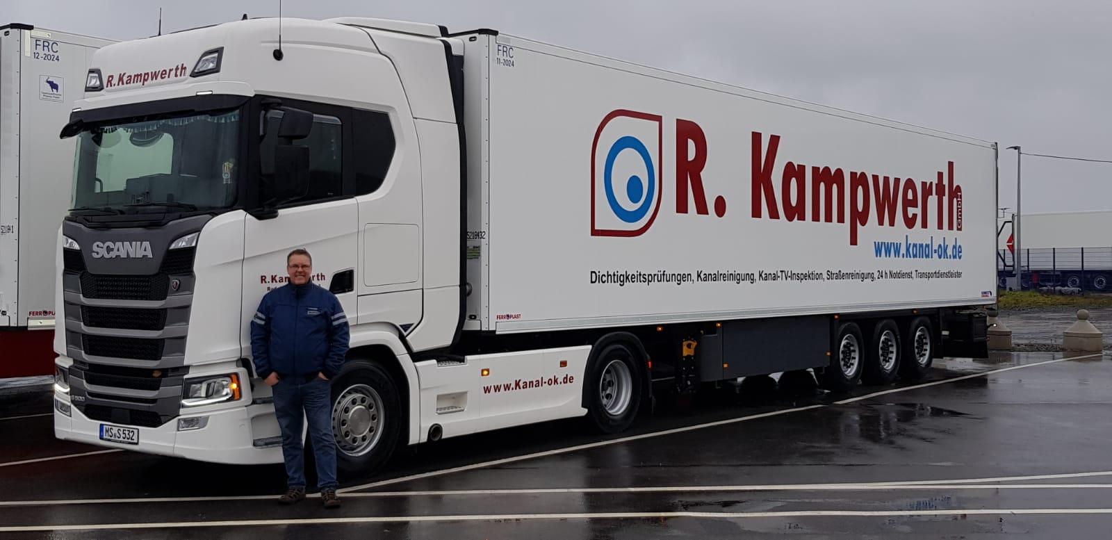 Kühltransporter   R. Kampwerth GmbH
