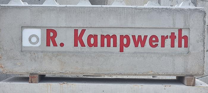 Betonblocksteine Kampwerth