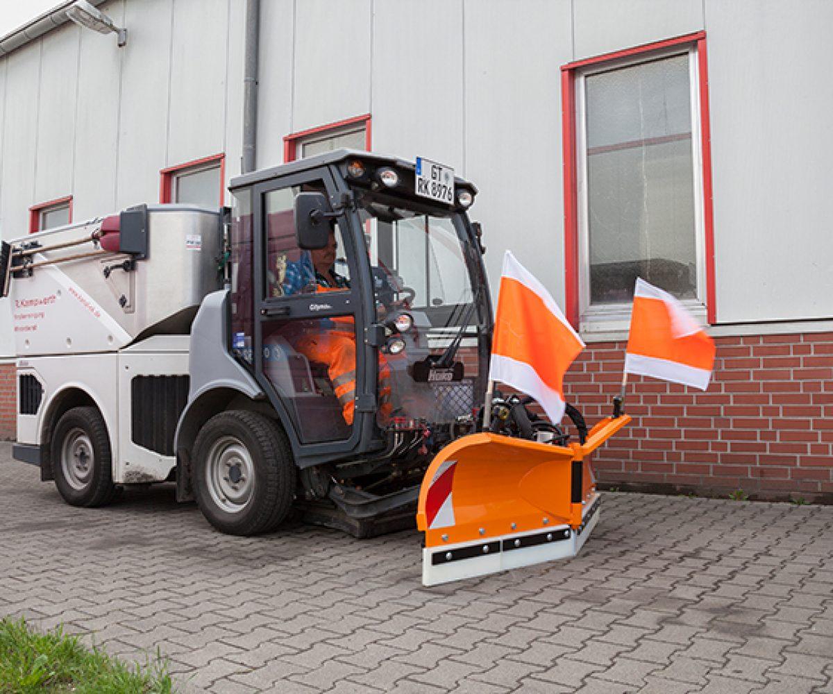 Citymaster 1600 Schneepflug | R. Kampwerth GmbH